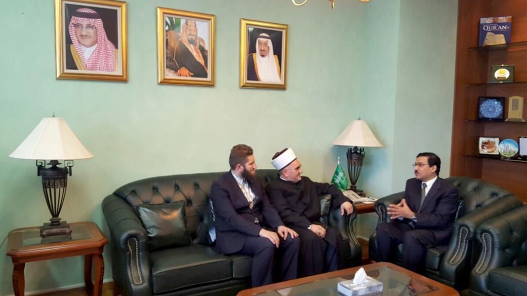 predsjednik mesihata u posjeti saudijskom ambasadoru (1)