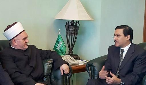 predsjednik mesihata u posjeti saudijskom ambasadoru (2)