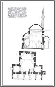 Šematski prikaz izgleda džamije (1)