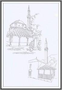 Crtež džamija