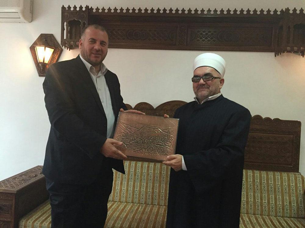 delegacija iz Prizrena kod muftije Dudica (1)