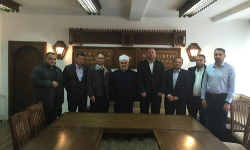 delegacija iz Prizrena kod muftije Dudica (7)