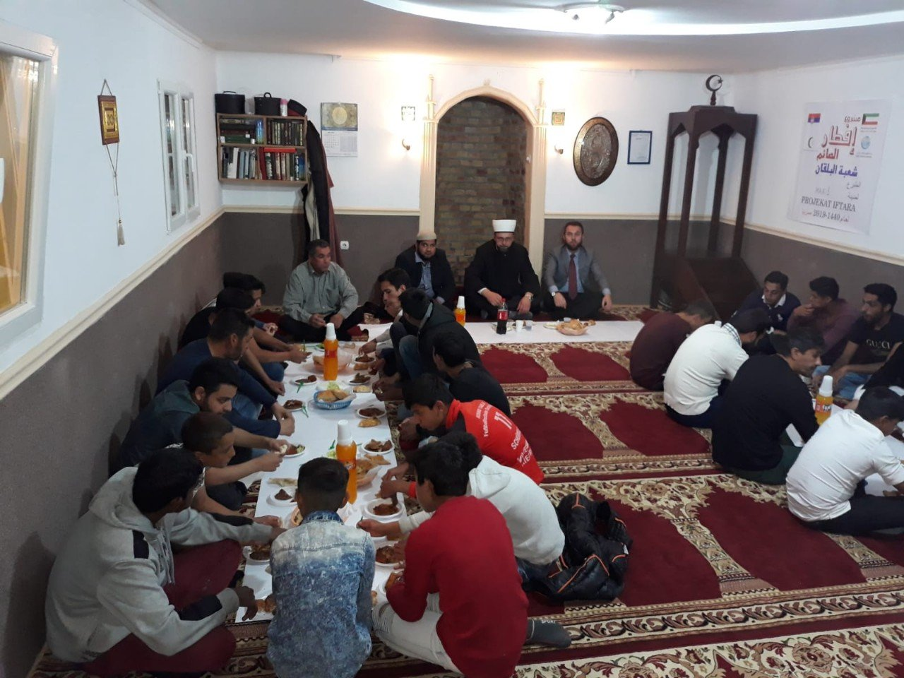 Iftar u džematu Makiš