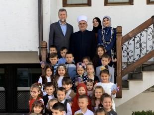 Polaznici Reude posjetili muftiju Dudića