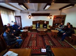 Muftija Dudić primio delegaciju Akademije GESAB