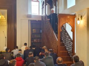 Predsjednik Mešihata održao hutbu u Sinan-begovoj džamiji
