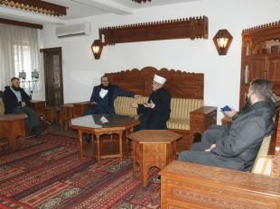 Muftija Dudić primio dekana Fakulteta za kur'anske znanosti iz Meke