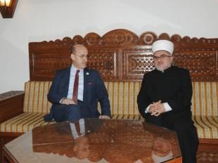 Muftija Dudić primio potpredsjednika manjeg BH entiteta Ramiza Salkića