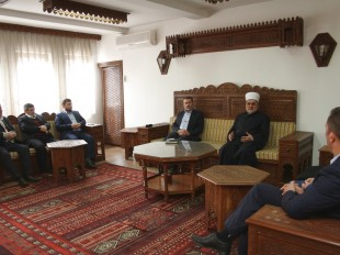 Predsjednik Mešihata primio delegaciju Medžlisa IZ-e Preševo