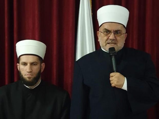 Muftija Dudić na iftaru u Petnjici