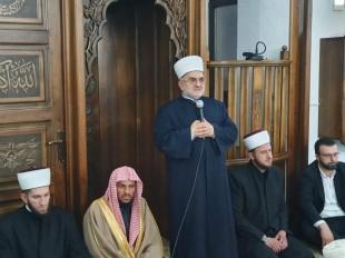 Predsjednik Mešihata na iftaru u Sjenici