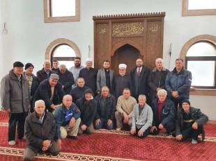Predsjednik Mešihata u posjeti Medžlisu IZ-e Priboj