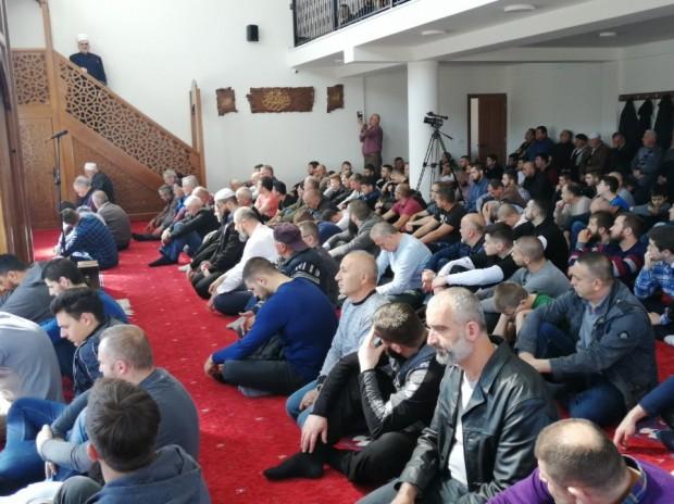 Predsjednik Mešihata održao hutbu u Hanefy džamiji