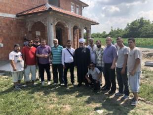 Muftija Dudić obišao radove u Velikom Ritu