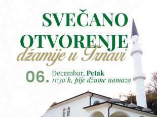 U petak svečano otvorenje džamije u Trnavi