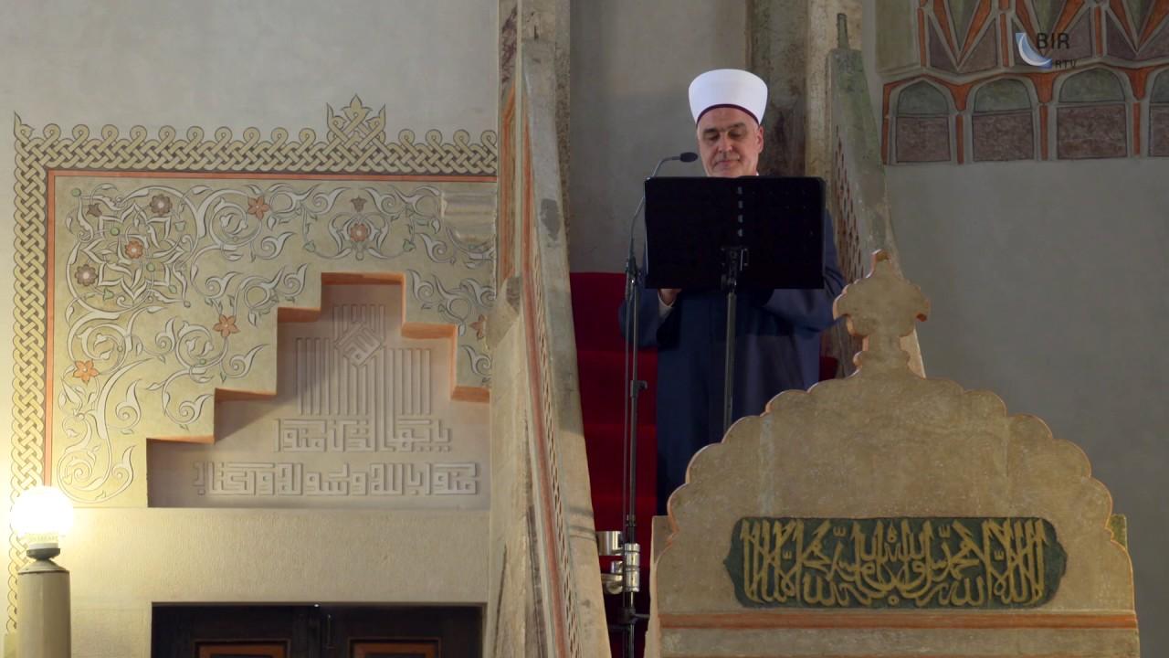 Hutba reisu-l-uleme u Gazi Husrev-begovoj džamiji